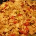 Pečeni kupus i paradajz