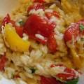 Pirinač sa pečenom paprikom