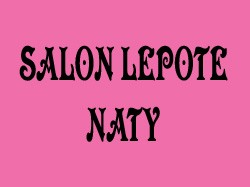 NATY - SALON LEPOTE