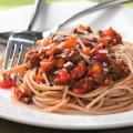 Špagete sa mesom i tikvicama