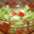 Zelena salata sa paprikom