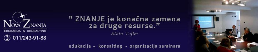Sponzor banner Agencija Nova Znanja